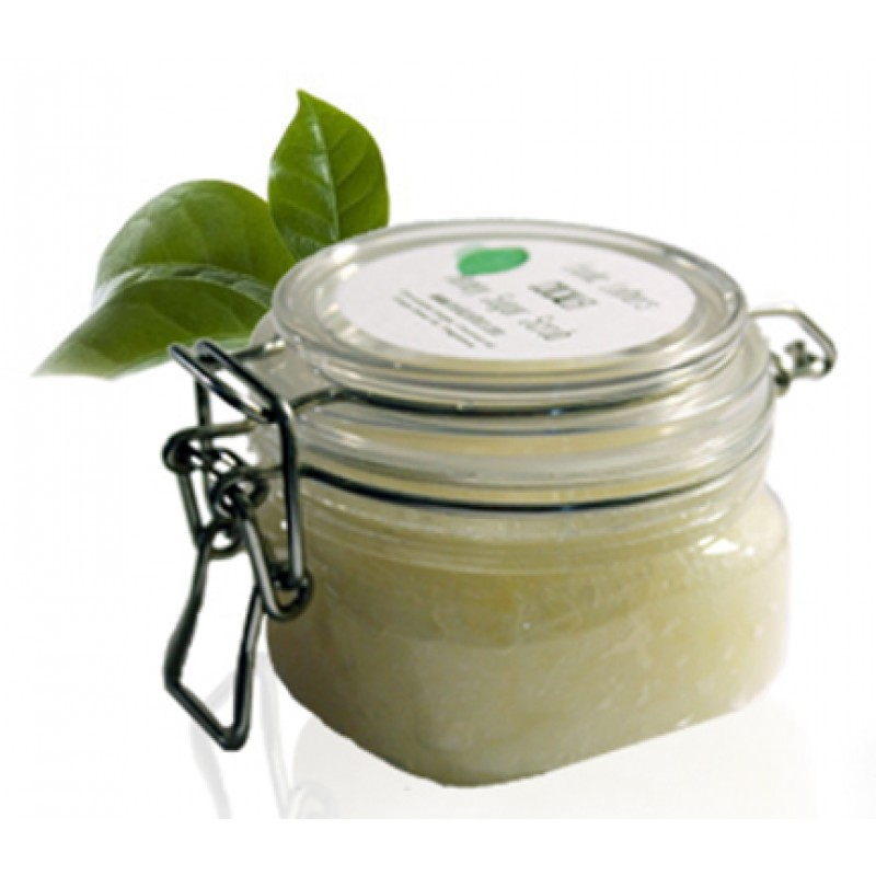 Fresh Ginger Lime Honey Sugar Scrub